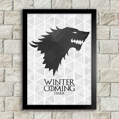 Poster Winter is Coming - Stark