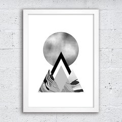 Poster Grey Mountains - comprar online