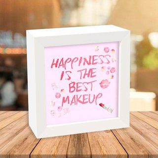 Quadro Box Happiness is the best makeup - comprar online