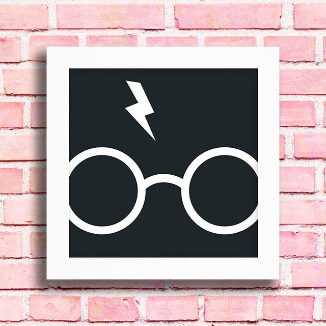 Quadro Harry Potter Glasses