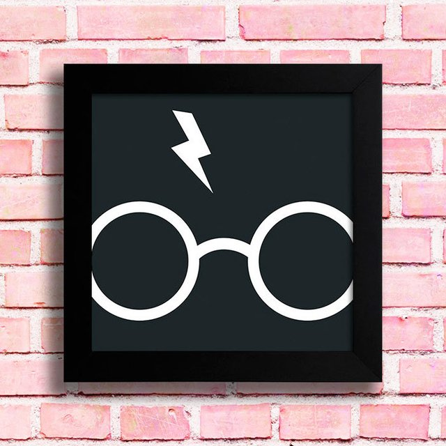 Quadro Harry Potter Glasses - comprar online