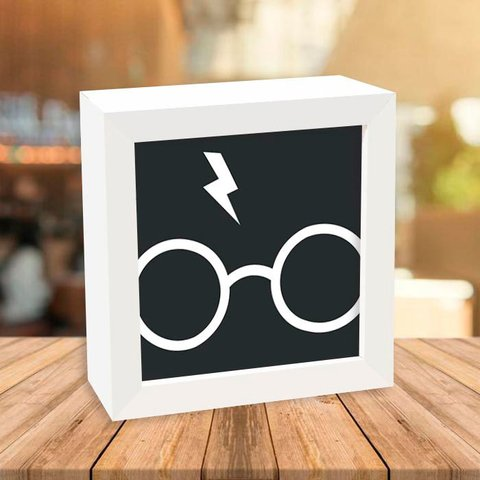 Quadro Box Harry Potter Glasses - Encadreé Posters