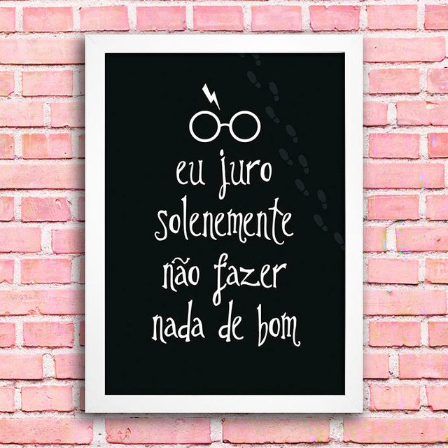 Poster Harry Potter - Mapa do Maroto - comprar online