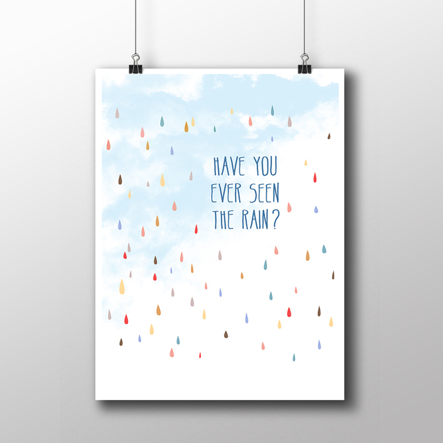 Poster Creedence - Have You Ever Seen The Rain? - loja online