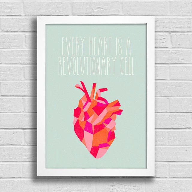 Poster Every Heart is a Revolutionary Cell