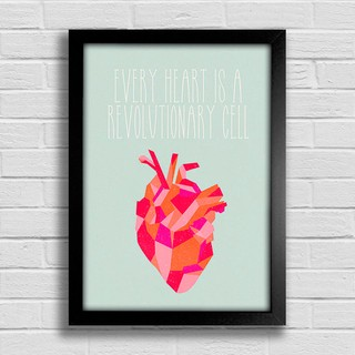 Imagem do Poster Every Heart is a Revolutionary Cell