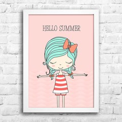 Poster Hello Summer na internet