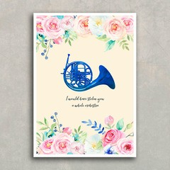 Poster HIMYM Blue French Horn