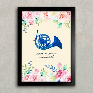 Poster HIMYM Blue French Horn na internet