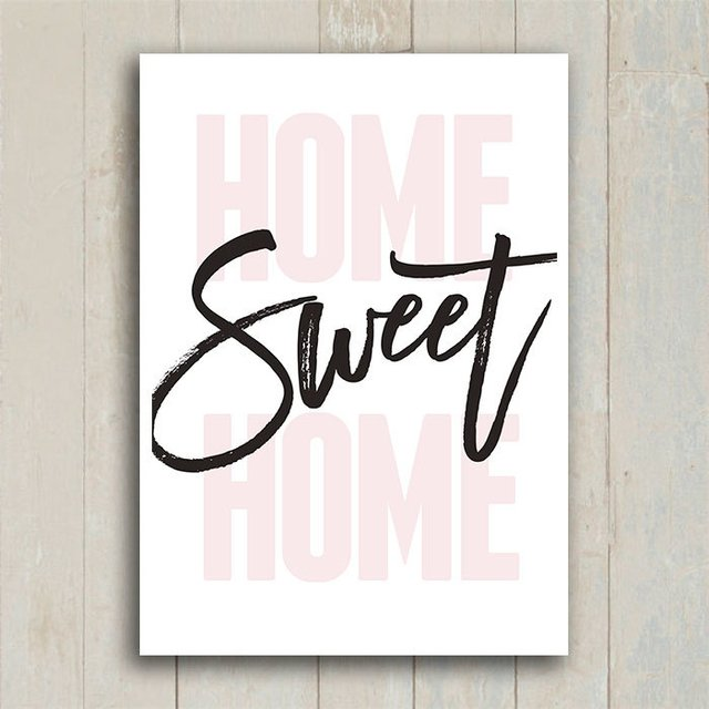 Poster Home Sweet Home II