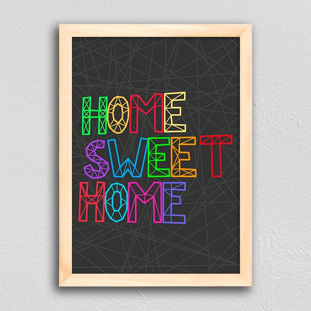 Imagem do Poster Home Sweet Home