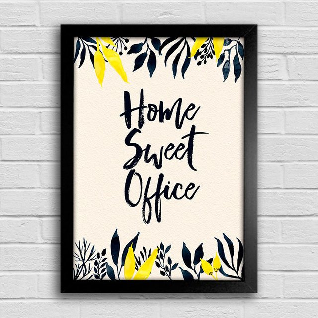 Poster Home Sweet Office na internet