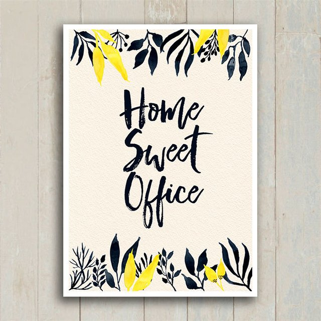 Poster Home Sweet Office - loja online