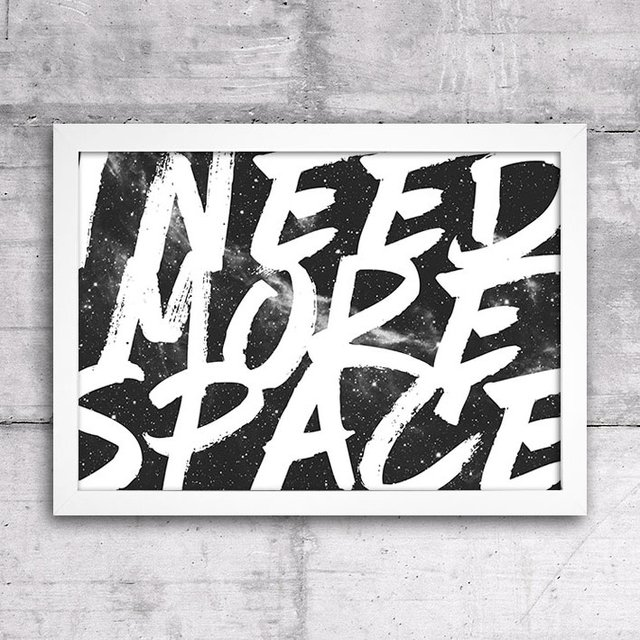 Poster I Need More Space - comprar online