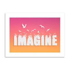 Poster Imagine - Encadreé Posters