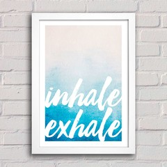 Poster Inhale Exhale na internet