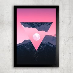 Poster Inverted Moon - comprar online