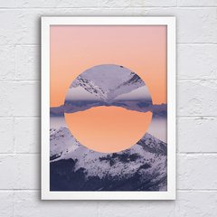 Poster Inverted Mountain