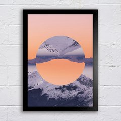 Poster Inverted Mountain - comprar online