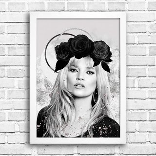 Poster Kate Moss na internet