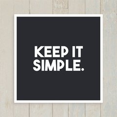 Quadro Keep it simple