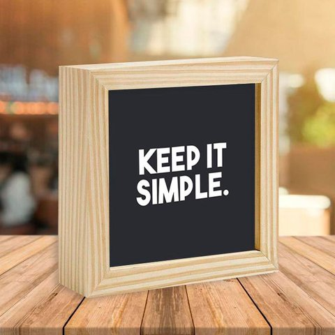 Quadro Box Keep It Simple