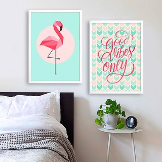 Kit Flamingo Good Vibes - comprar online