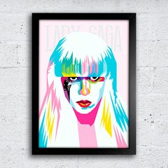 Poster Lady Gaga Color na internet