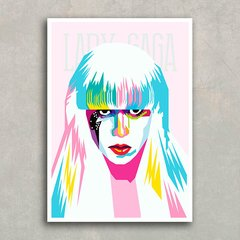 Imagem do Poster Lady Gaga Color