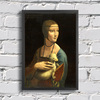 Leonardo Da Vinci - Lady With An Ermine na internet