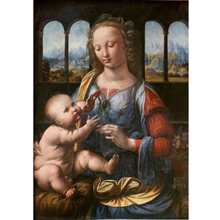 Leonardo Da Vinci - Madonna of the Carnation