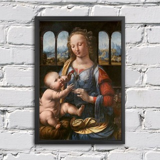 Leonardo Da Vinci - Madonna of the Carnation na internet