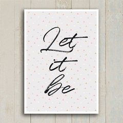 Poster Let it be III - loja online