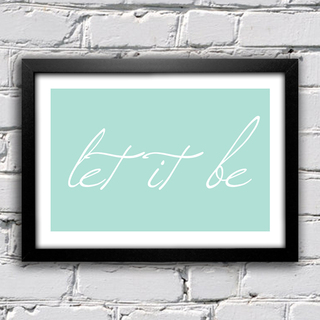 Poster Beatles Let It Be I - comprar online