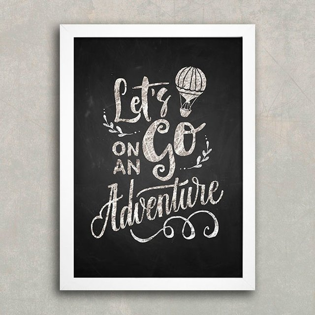 Poster Let's Go on an Adventure - comprar online
