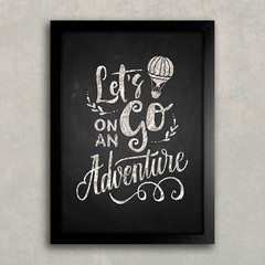 Poster Let's Go on an Adventure na internet