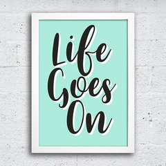 Poster Life goes on na internet