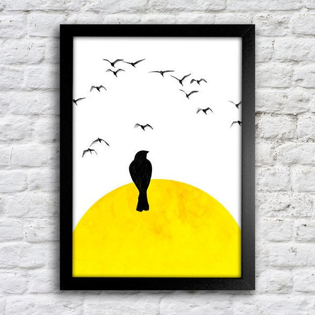 Poster Lonely Bird - comprar online