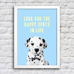 Poster Look fot the happy spots in life na internet