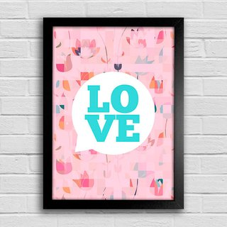 Poster Love Bubble na internet
