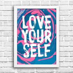 Poster Love Your Self na internet