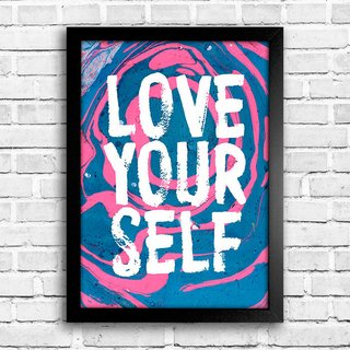 Poster Love Your Self - comprar online