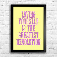 Poster Loving Yourself - comprar online