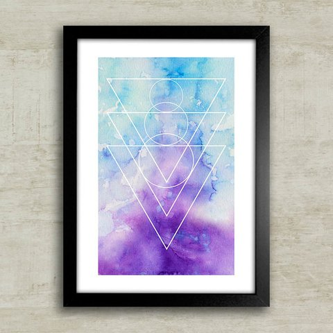 Poster Marble Purple - comprar online