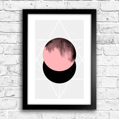 Poster Abstract Rose - comprar online