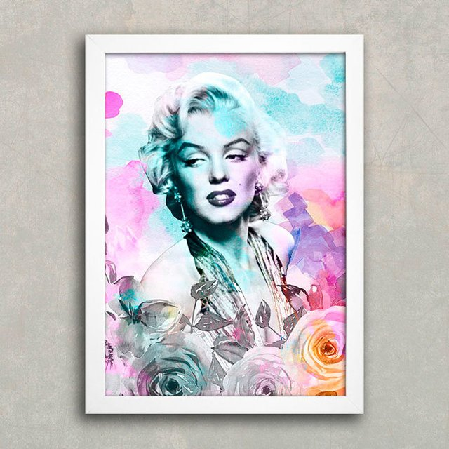Poster Marilyn Flower na internet