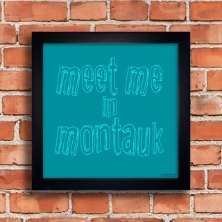 Quadro Meet Me In Montauk na internet
