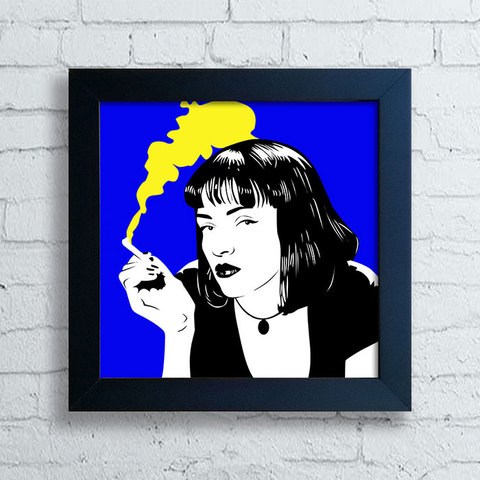 Quadro Mia Wallace - Pulp Fiction II