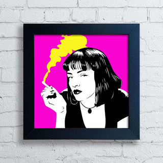 Quadro Mia Wallace - Pulp Fiction I na internet