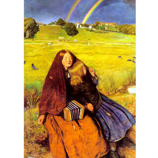 Millais - Blind Girl